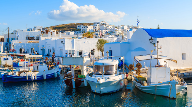 Rent a car to explore Paros