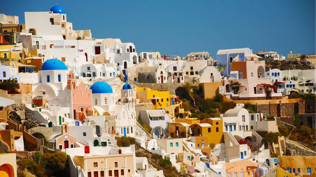 Rent a car to explore Santorini