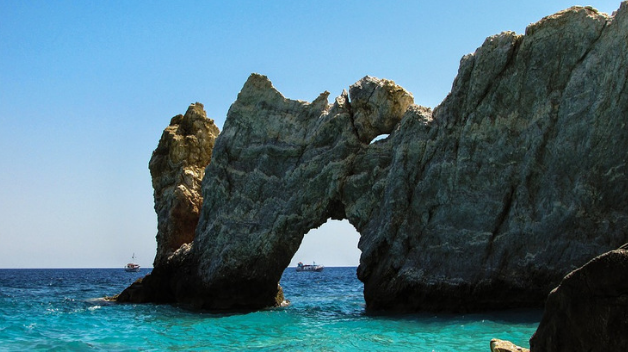 Rent a car to explore Skiathos