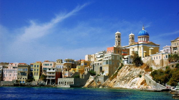 Rent a car to explore Syros